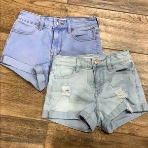PacSun Bundle Of 2 Jean Shorts size 22